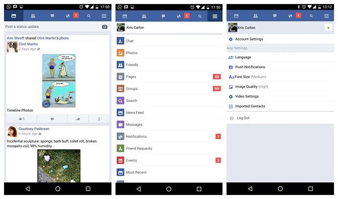 uPages. Market Vzlom. Приложения для быстрой работы Facebook. Фото 5