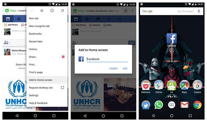 uPages. Market Vzlom. Приложения для быстрой работы Facebook. Фото 2