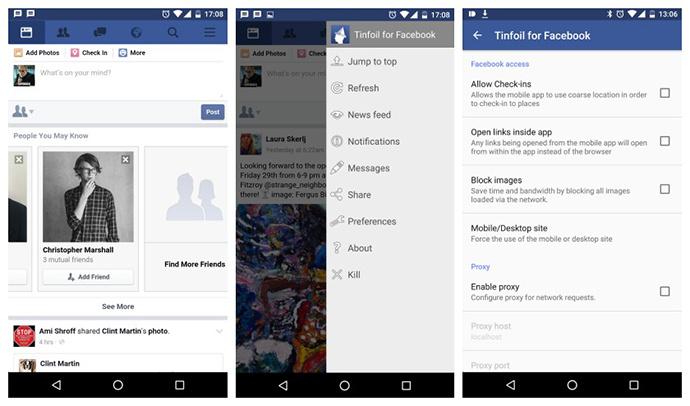 uPages. Market Vzlom. Приложения для быстрой работы Facebook. Фото 4