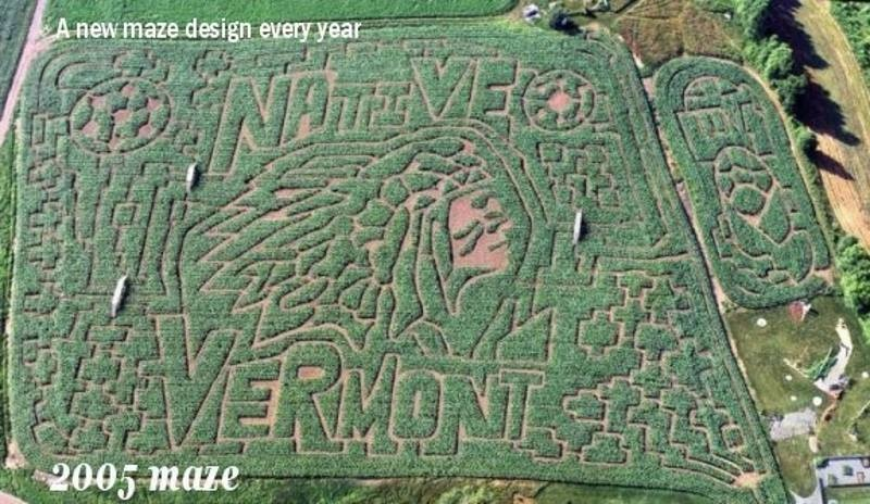 Фото: Great Vermont Corn Maze