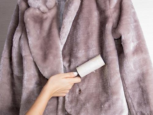 Почистить мутоновую шубу домашних условиях