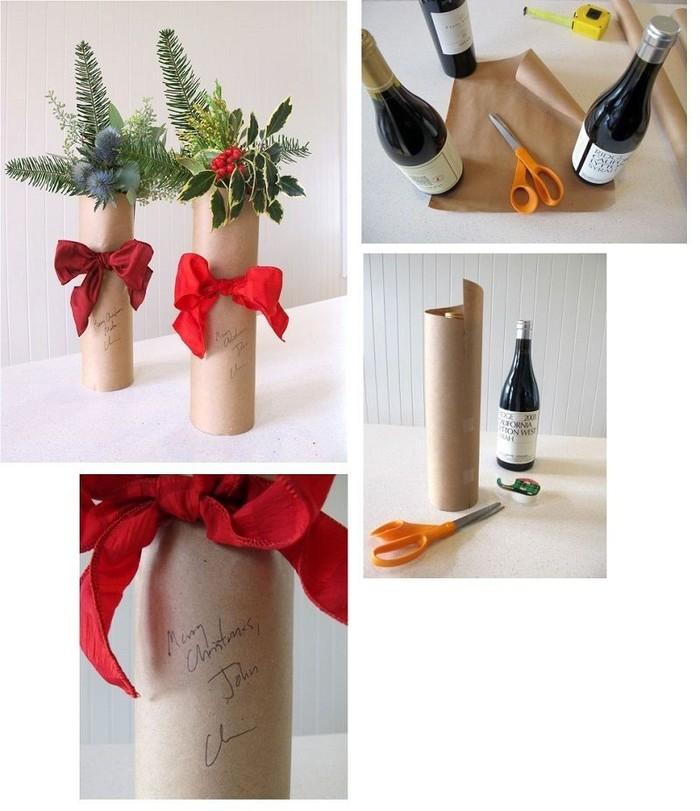 Необычная упаковка для вина своими руками 92