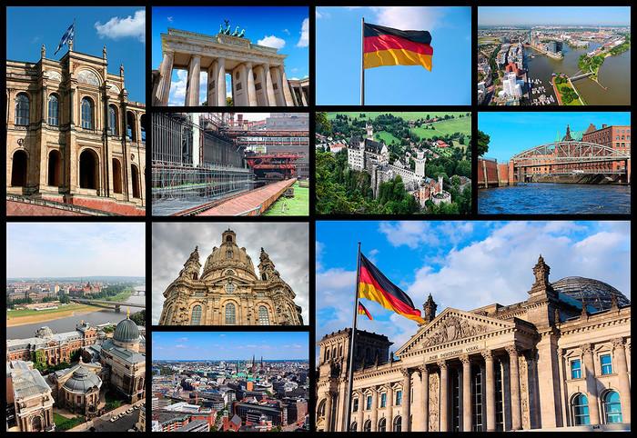 Немецкие достопримечательности