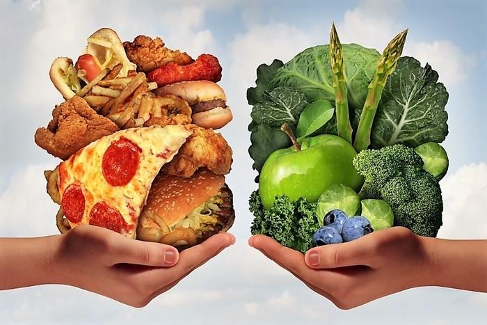 Зеленые овощи - снижают количество холестерина в крови.
