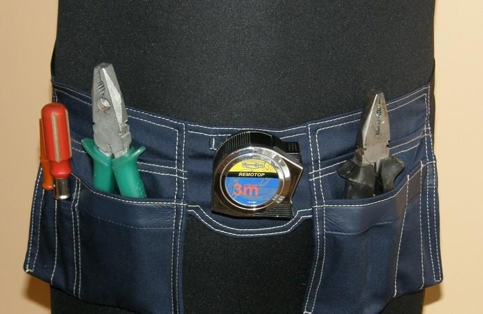 Сумка для инструмента поясная своими руками