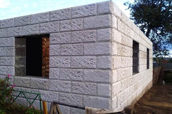 Строим баню своими руками из керамзитобетонных блоков